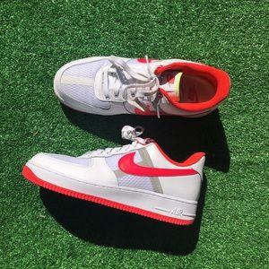 Nike Air Force 1 low Transparent Crimson Men Sz8.5